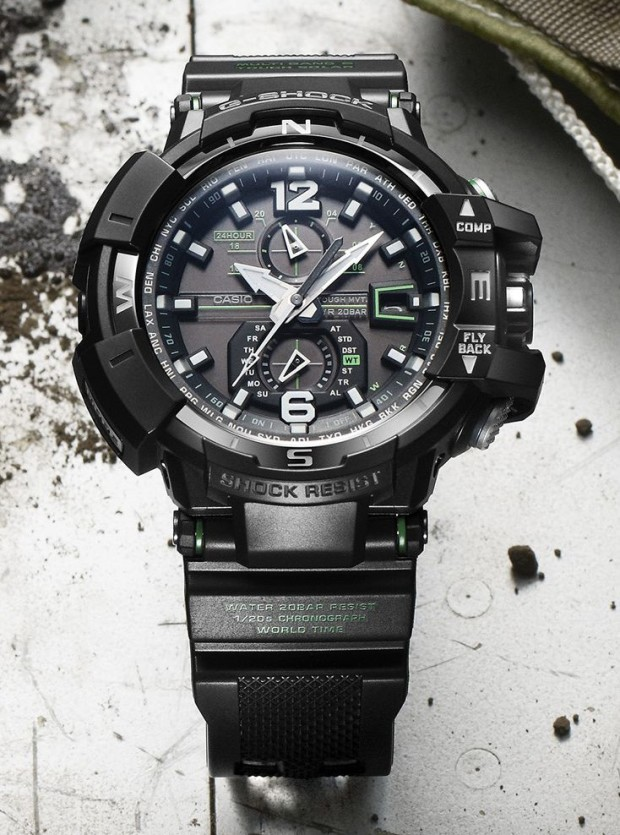 Casio G-Shock Gravity Defier Aviator GW-A1100 01