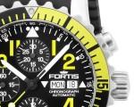 Fortis Marinemaster Chronograph Yellow 02