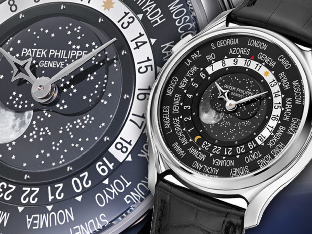 Patek Philippe World Time Moon 03